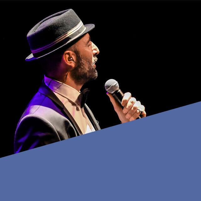 Contratar a Javier Botella, el crooner español